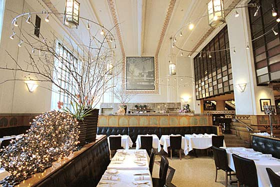 Eleven Madison Park's palatial dining room might be changing