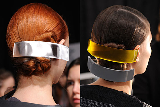 Hot Hair Idea: Jumbo Barrettes at Cynthia Rowley -- The Cut