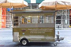 The Solar-Powered Hummus Cart