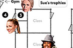 Vulture's Painstakingly Accurate Map of Glee's McKinley High