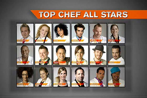 Bravo Announces Top Chef: All-Stars