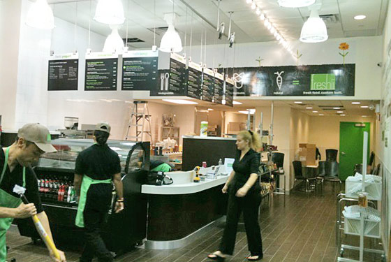Do-Gooder Chain Freshii Comes to Manhattan: Build (and Bring!) Your Own Bowl