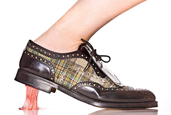 CHURCH'S Brown Patent leather Flats