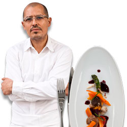 César Ramirez Calls Food Blogger's Accusations &#