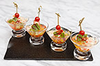 Clear Gazpacho Jelly