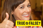 Your Weekly Dose of Parks and Recreation: How Well Do You Know Rashida Jones?