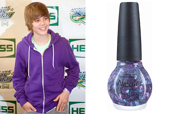 Justin Bieber Made Some Nail Polish to Sell Exclusively at Wal-Mart