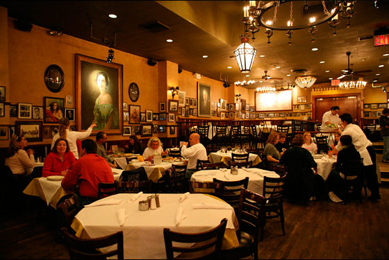Lawsuit: Carmine's Waiter Had to Share Tips With Napkin Roller