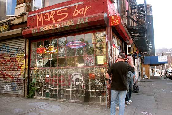 Mars Bar, a Place for Danzig and Romancing