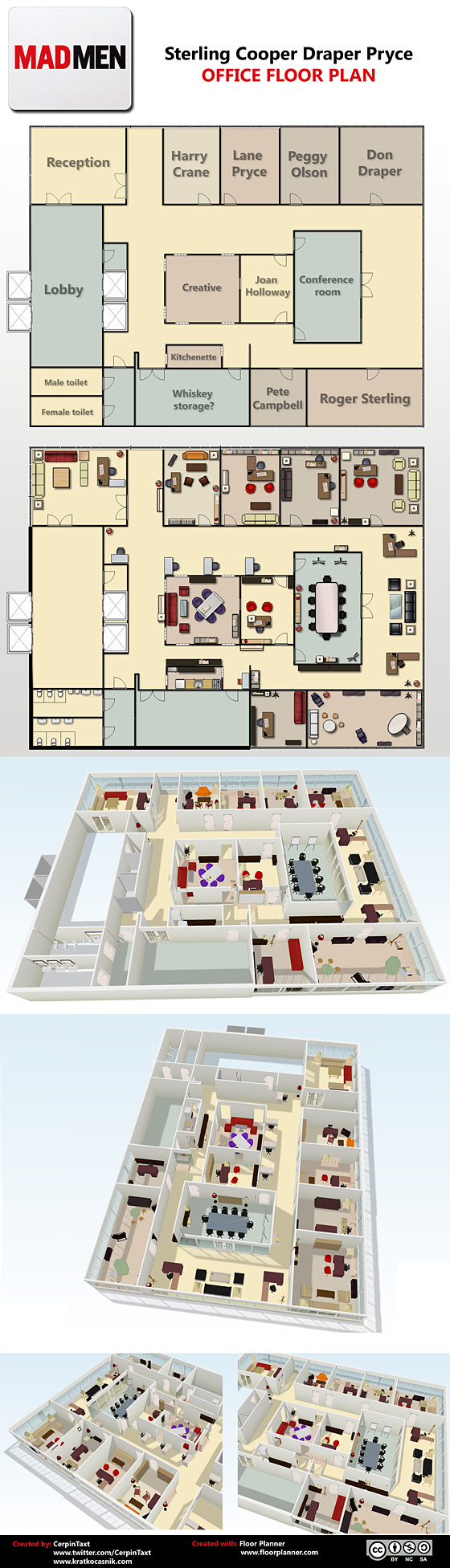 see a floor plan of the mad men office vulture