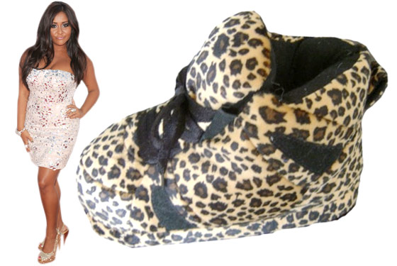 Shoe Slippers Snooki Feet Snooki Slippers Are