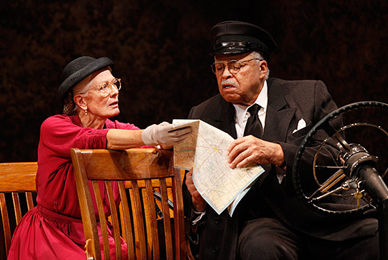 Theater Review: Vanessa Redgrave and James Earl Jones Drive an Angrier Miss Daisy