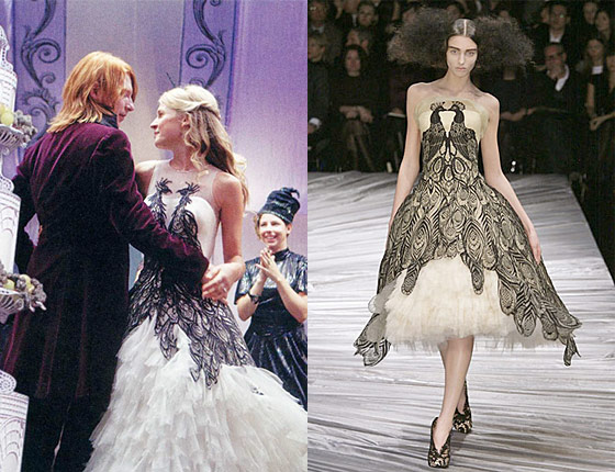 A Harry Potter Wedding Dress Looks Pretty Similar To A