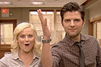 Watch Amy Poehler and Adam Scott Announce Parks and Recreation ... in 3-D!