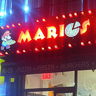 Super Mario Warps Over to Queens