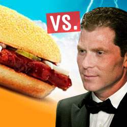 It's On: Listen to Bobby Flay's Radio McRib Throwdown