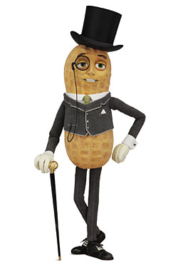 Mr. Peanut Now More Heritage-y