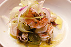 Osteria Morini&#39;s seafood salad.