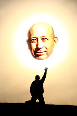 The Lloyd Blankfein Patio Torch