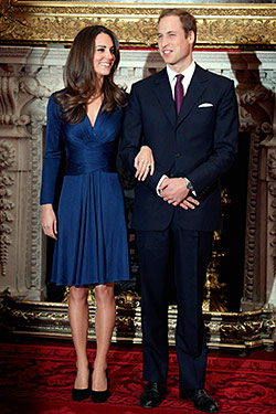Good Luck Buying Kate Middleton&39s Blue Issa Dress  The Cut