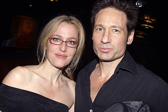 A Three-Minute X-Files Reunion With David Duchovny and Gillian Anderson