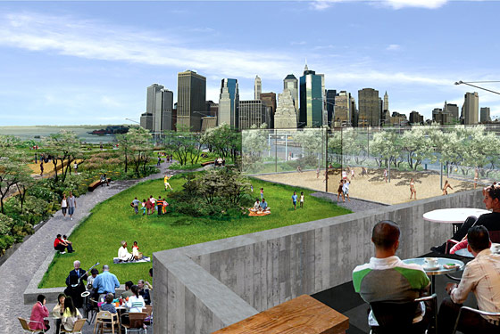 Bark Hot Dogs Comes to Brooklyn Bridge Park Terrace