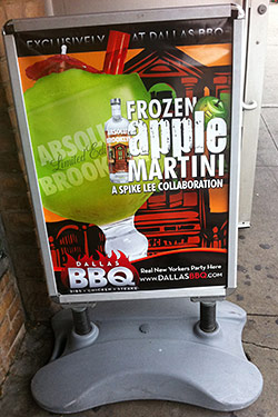 Spike Lee&#8217;s Latest Joint: The Twenty-Ounce Appletini