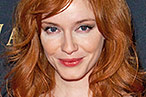 Christina Hendricks Drinks Her Scotch Neat, Whips Up Goat-Cheese Pizzas