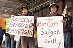 Saigon Grill Protests Heat Up Again Under New Owners
