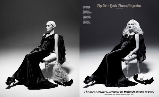 Natalie Portman Wears a Blonde Wig on the Cover of The New York Times Magazine, Will Star in Miss Dior Cherie Ads