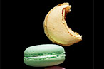 Macarons: fashionable and delicious.