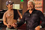 Yep, That's Matthew McConaughey Rubbing Guy Fieri's Belly