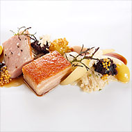 The pork at Eleven Madison Park.