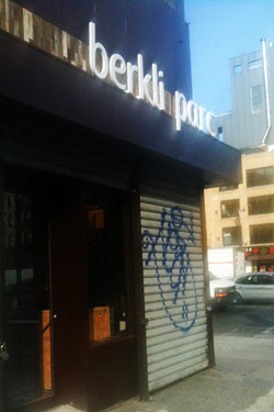 Berkli Parc, the Latest Restaurant at Allen and Delancey Streets, Will Open Monday