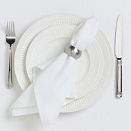 Time to Learn Proper Napkin Etiquette!