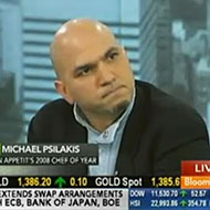 Michael Psilakis Appears on Bloomberg TV, Says He Hopes to Open More Fish Tags