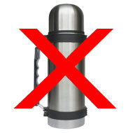 Flying Today? Don't Pack a Thermos!