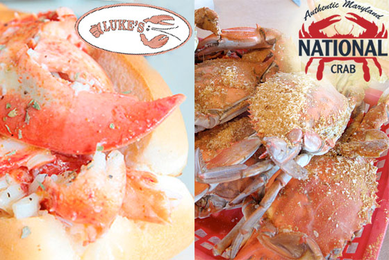 Maryland Crabcakes Battle Maine Lobster Rolls at the New Foodshed Market