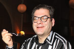 The <em>Village Voice</em>'s Michael Musto, out on the town.