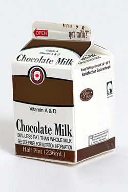 Choclate milk, now with vodka!