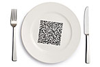 QR Codes All Over Your Plate: Will They Make Dining Companions and Waitstaff Obsolete?