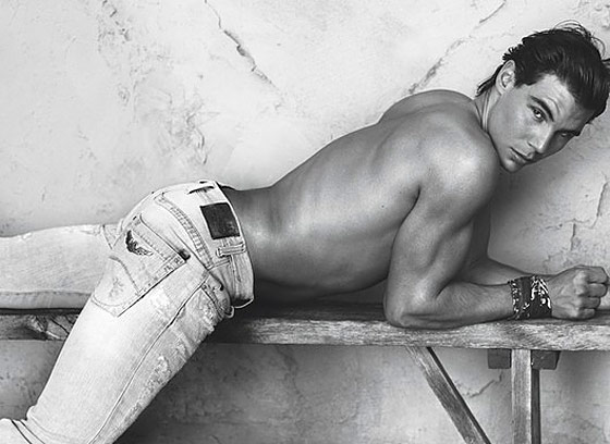 Does Rafael Nadal's First Armani Jeans Ad Make You Feel a Little ... Stiffed?