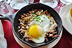 Sizzling sisig.