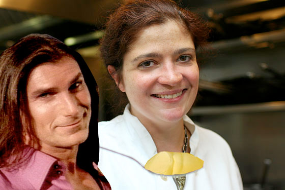 Kim Cattrall and Alex Guarnaschelli Can't Believe It's Not Butter!