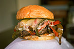 Susan Feniger Loves the 'Gooey' Spicy Sly at Pearl's Deluxe Burgers