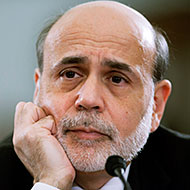 Ben Bernanke probably does not have a good poker face.