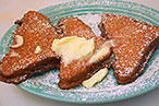 Sylvia Park is Wild About the Crispy Fried French Toast at Theresa & Johnny's