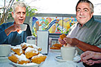 Richman to Nemesis Bourdain, Regarding That Treme Cameo: 'Nice Work!'