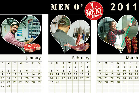 Need a Valentine's Date? Introducing the Men of the Meat Hook!