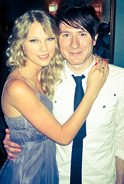 adam young and taylor swift enchanted to meet